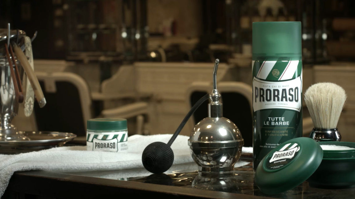 Overview of PRORASO cosmetics