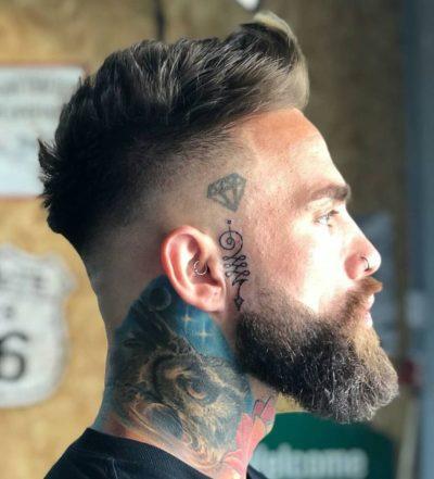 Зачіска Фейд – стильним легко бути